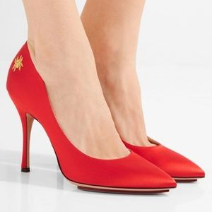 Charlotte Olympia Bacall High Heel Spider Pumps
